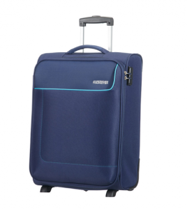 FUNSHINE 2-WHEEL CABIN LUGGAGE ORION BLUE BY AMERICAN TOURISTER